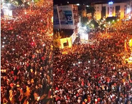 استقبال كبير للاسود بالمغرب بعد عودتهم بالتأهل لكأس العالم من قلب ابيدجان