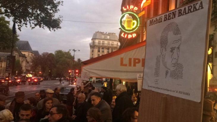تخريب نصب تذكاري للمهدي بنبركة بباريس + صورة