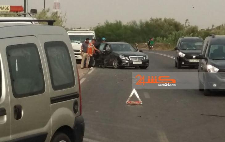 حوادث اصطدام متتالية وشجارات كلامية تعرقل حركة السير بشوارع مراكش