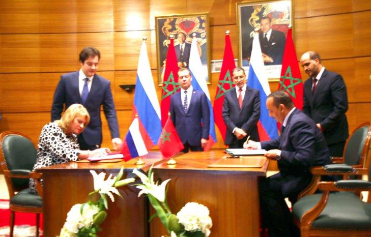 التوقيع بموسكو على اتفاقية شراكة وتعاون بين المغرب وروسيا