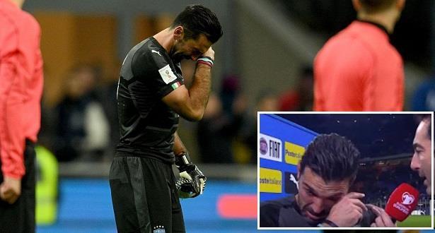 بوفون يقرر الاعتزال دوليا عقب فشل إيطاليا في التأهل للمونديال
