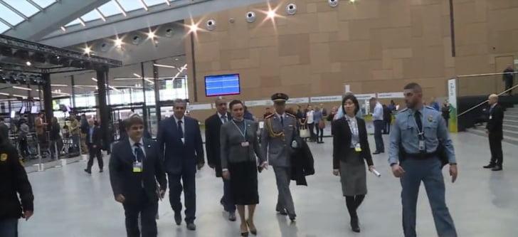 الأميرة للا حسناء تمثل الملك في مراسيم افتتاح الشق الرفيع المستوى لمؤتمر كوب 23
