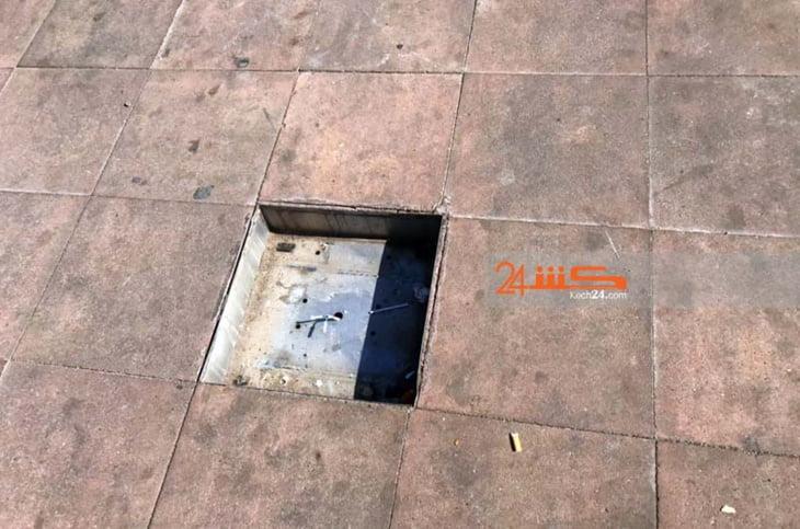 إزالة المصابيح الأرضية الكاشفة يثير إستياء المواطنين بساحة القزادرية بمراكش + صور