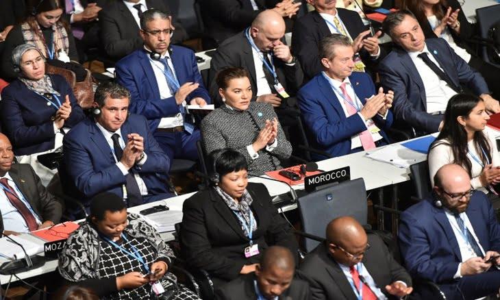 للا حسناء توقع على مذكرة تفاهم مع سكرتارية الاتفاقية الإطار للأمم المتحدة للتغيرات المناخية