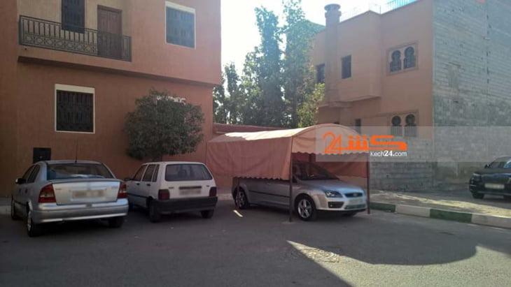 إستياء في صفوف ساكنة بحي أمرشيش بسبب إحتلال جزء من مرآب بشكل سافر