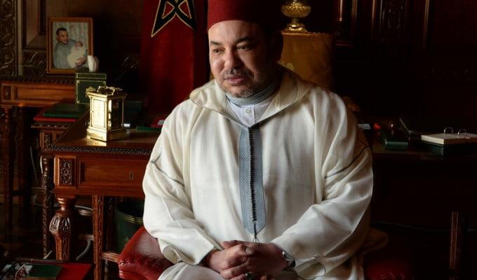 برقية تعزية ومواساة من جلالة الملك إلى أفراد أسرة المرحوم عبد الله شقرون