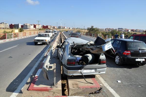 انخفاض عدد قتلى حوادث السير بالمغرب في تسعة أشهر