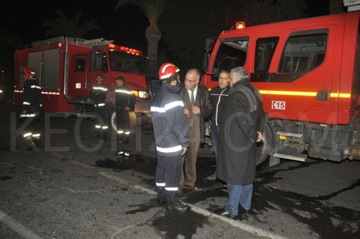 كـشـ24 تكشف حجم الخسائر التي خلفها حريق