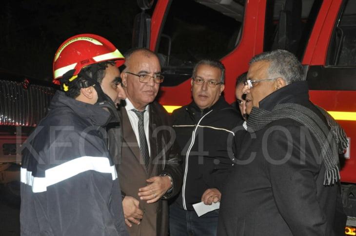 ولاية جهة مراكش تكشف أسباب اندلاع حريق بمطعم