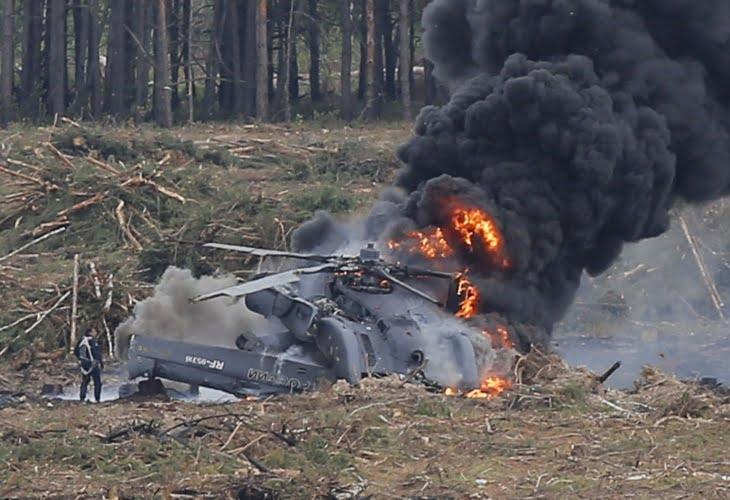 أربعة قتلى في حادث تصادم جوي بين مروحية وطائرة خفيفة