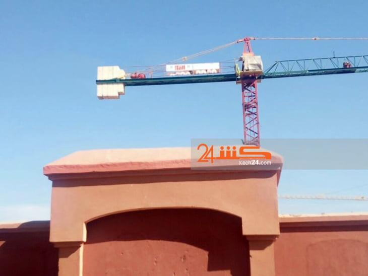 صادم: توقف أشغال بناء المستشفى القطري بسيدي يوسف بن علي بمراكش + صور