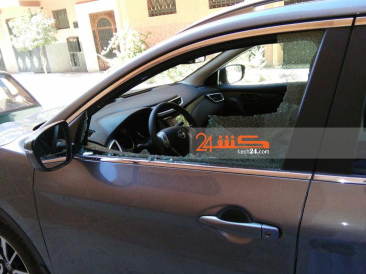 سرقة محفظة من داخل سيارة بمراكش