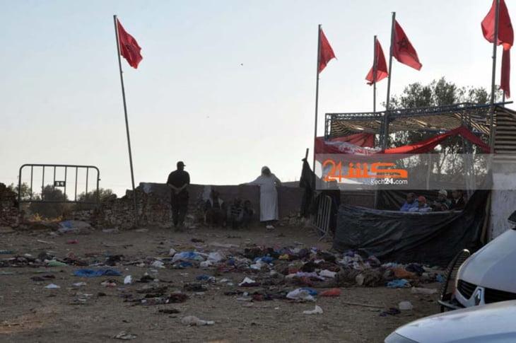 بالصور: شبح الموت يخيم على الصويرة بعد فاجعة التدافع القاتل