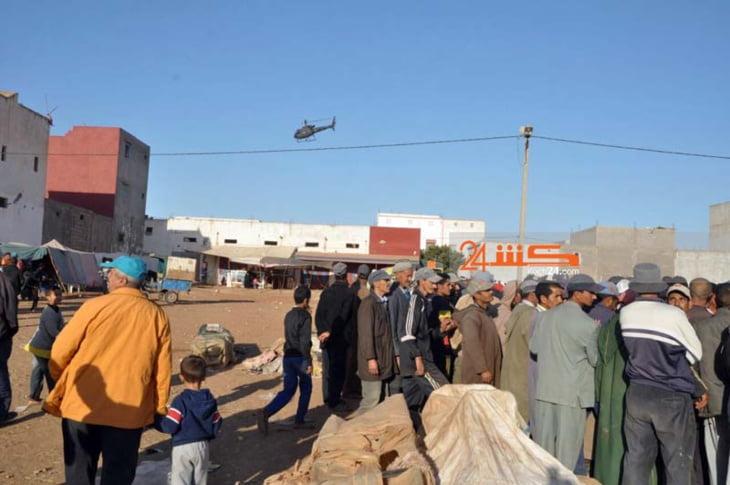 عاجل: هبوط هيليكوبتر بمسرح فاجعة الصويرة يرسل شابين لتلقي لعلاج