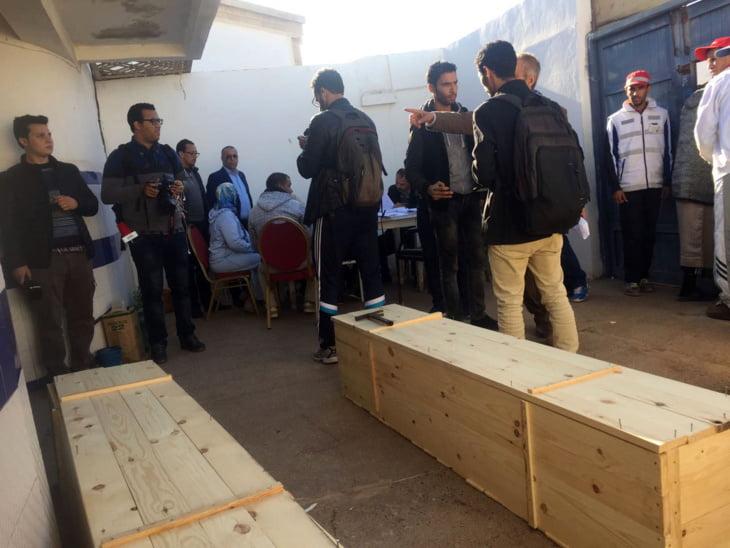 رفاق الغلوسي يطالبون بفتح تحقيق معمق حول كارثة الصويرة ويحملون الحكومة مسؤولية الفاجعة