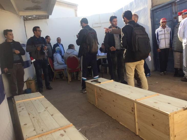 الجمعية المغربية لحقوق الإنسان بجهة مراكش تدين السياسات العمومية التي أنتجت فاجعة الصويرة
