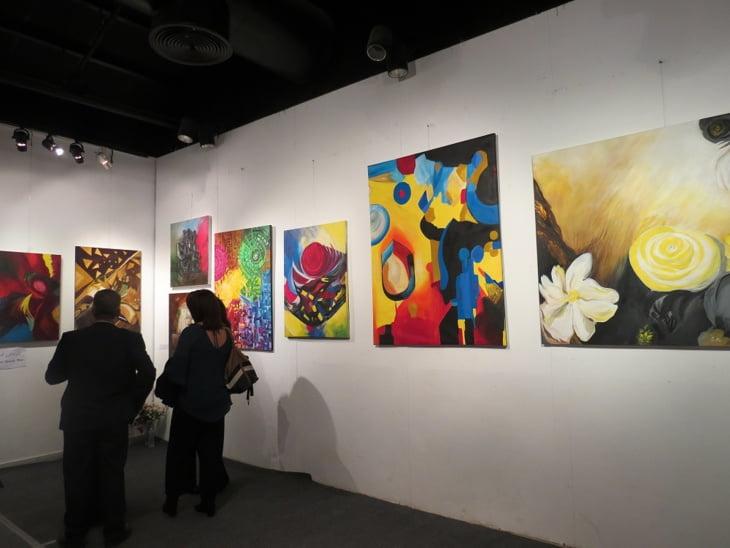 الفنان مصطفى أكريم يعرض بمراكش ابداعاته تحت شعار