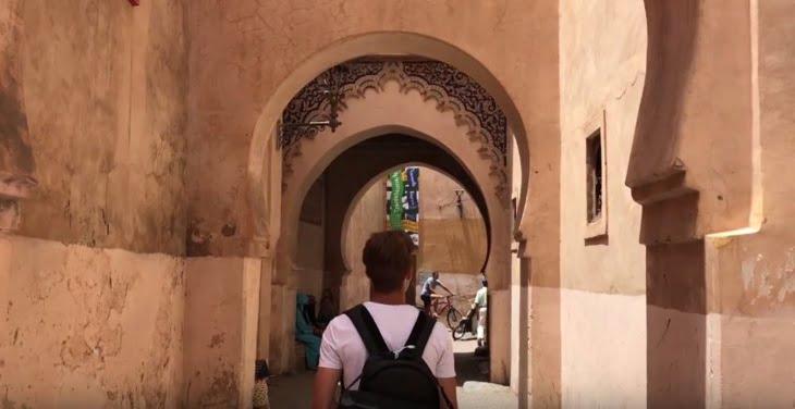وفد من الصحفيين الإيطاليين يزور مدينة مراكش