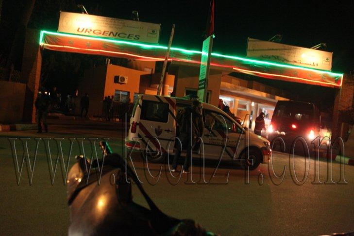 حارس سيارات بالمدينة العتيقة بمراكش يتعرض لاعتداء شنيع بالسلاح الابيض
