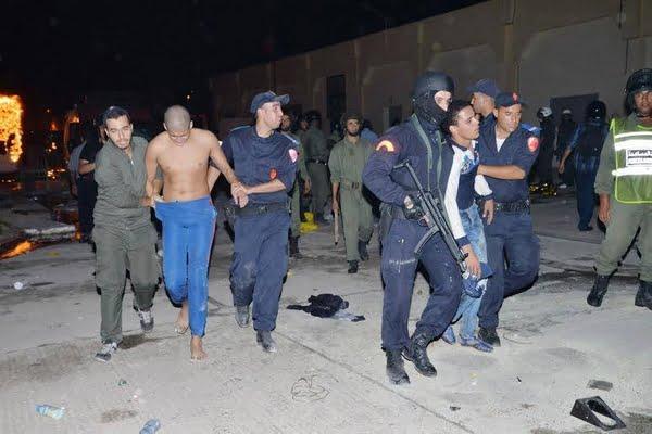 عدد كبير من الإعتداءات التي نفذها سجناء في حق الموظفين