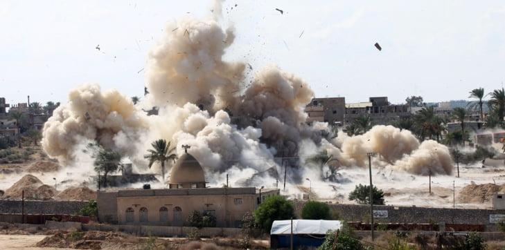 ارتفاع حصيلة قتلى الهجوم على مسجد الروضة بمصر