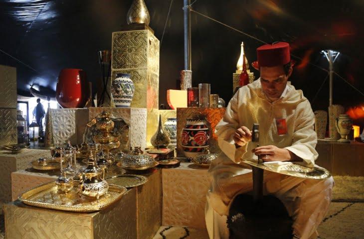 استعراض المؤهلات السياحة المغربية بمعرض وارسو