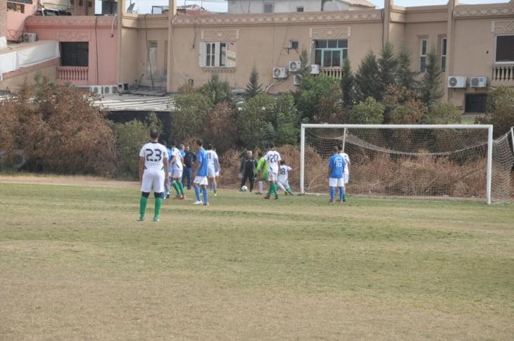 تنظيم الدورة الثامنة من دوري المسيرة الخضراء للضربيين لكرة القدم بمراكش + صور