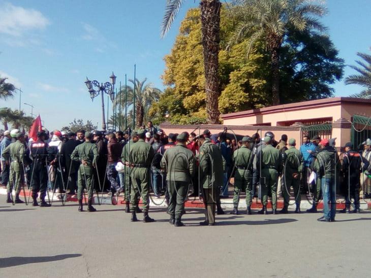 تهديدات بتنظيم مسيرات العطش نحو ولاية مراكش بسبب حرمان سكان دواوير المزوضية من الماء
