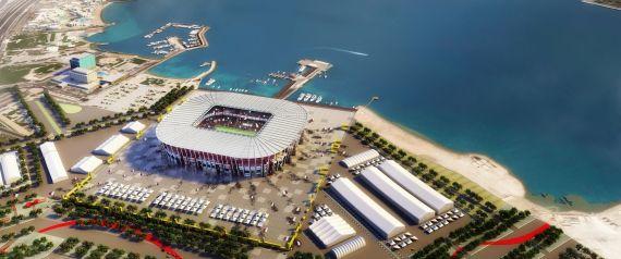 قطر تكشف عن ملعب قابل للتفكيك والتبرّع بأجزائه بعد كاس العالم
