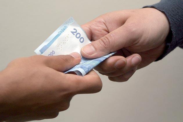 """رشوة 1300 درهم تقود إلى إعتقال """"شيخ"""" و """"مقدم"""