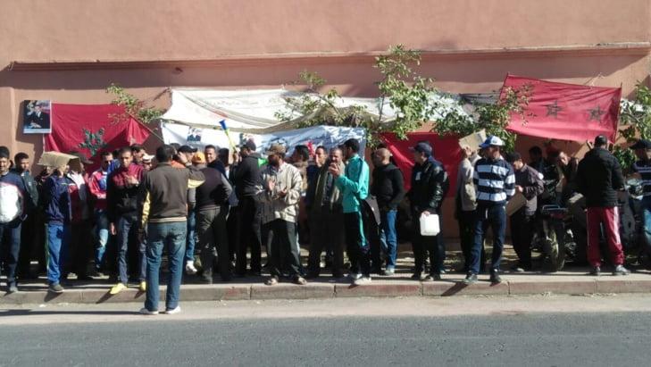 اضراب جديد لعمال شركة بمراكش بعد فشل جلسة الحوار