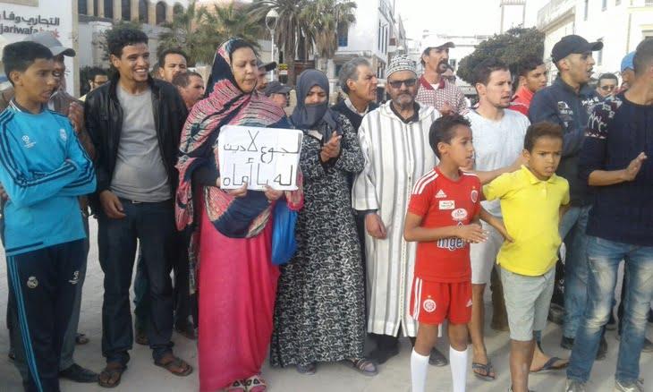 حقوقيون من مراكش يشاركون في مسيرة تضامنية مع ضحايا بولعلام بالصويرة + صور