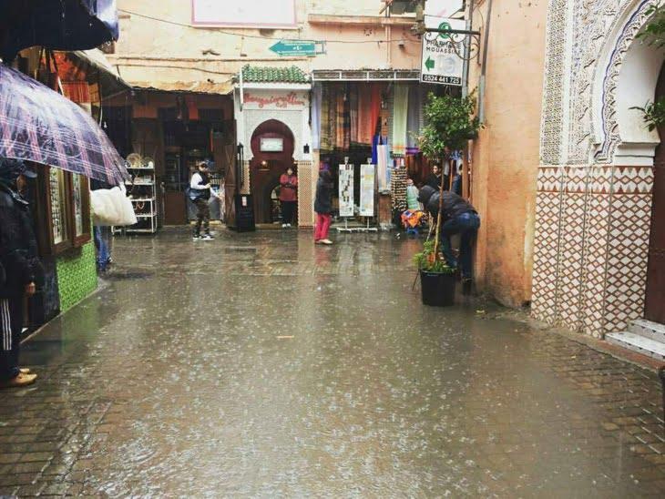 أمطار بالعديد من المناطق في توقعات الطقس يومه الاربعاء