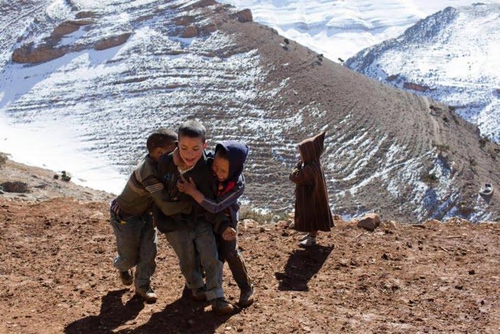 حملة تبرع بالملابس تستهدف ساكنة الجبال نواحي مراكش