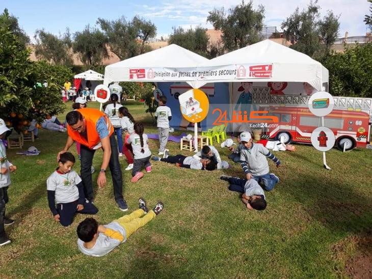 فندق المانونية بمراكش يحتفل باطفال مستخدميه من خلال أنشطة غنية + صور