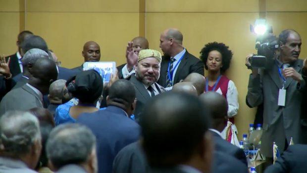 الملك يلقي خطابا أمام قمة الاتحاد الافريقي-الاتحاد الأوروبي