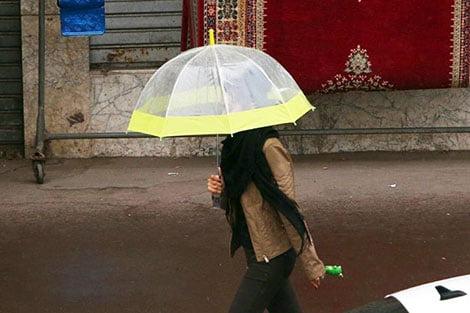 أمطار وزخات رعدية بالعديد من جهات المملكة في توقعات أحوال 7طقس الخميس