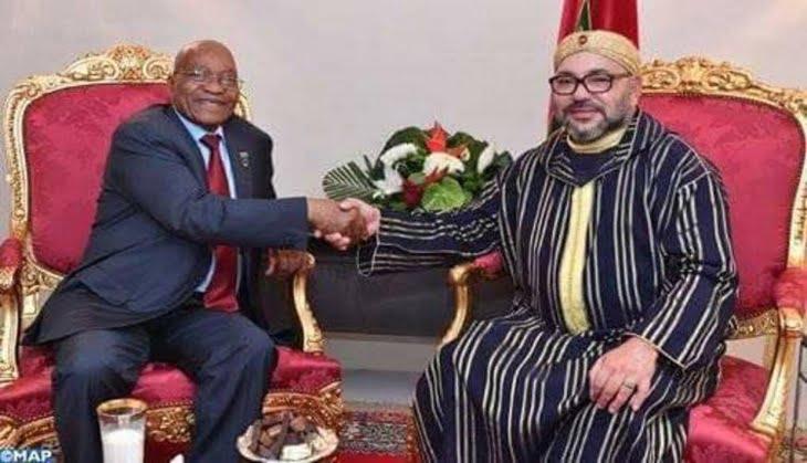 مُصافحة تاريخيّة ومُفاجئة بين الملك وزوما واتفاق على تجاوز الخلافات