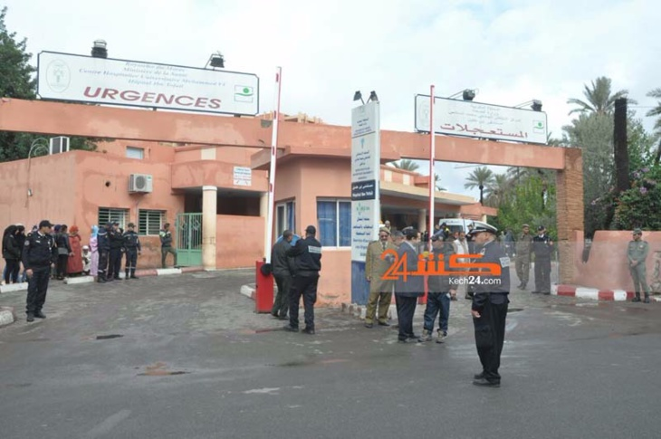 عاجل: استنفار بمستشفى ابن طفيل بمراكش لاستقبال وإسعاف جرحى انقلاب حافلة بتامنصورت
