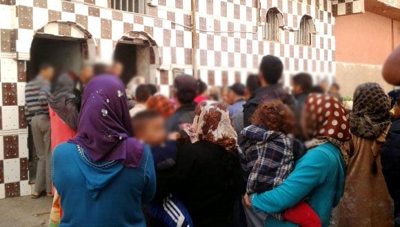 هلع كبير وسط حمام شعبي يدفع بنسوة إلى الخروج هربا للشارع بمراكش