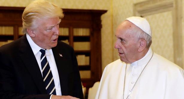 بابا الفاتيكان يدعو إلى احترام الوضع القائم في مدينة القدس