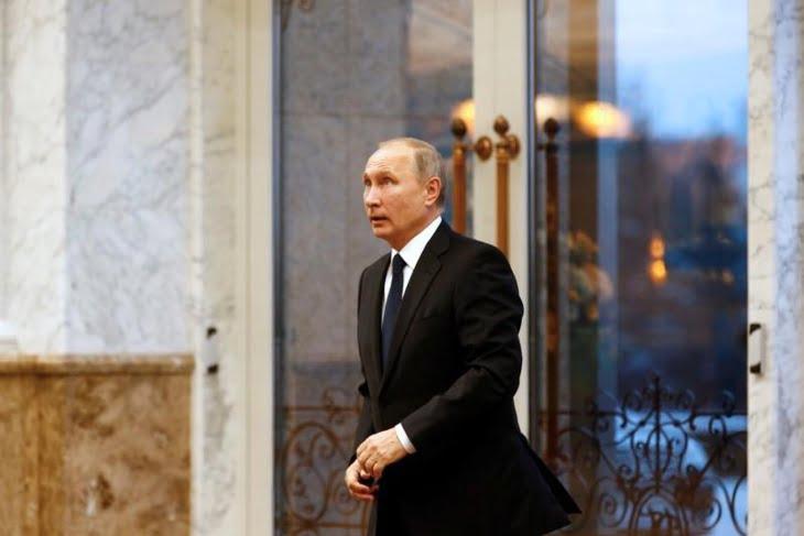 بوتين يعلن عن ترشحه للانتخابات الرئاسية الروسية عام 2018