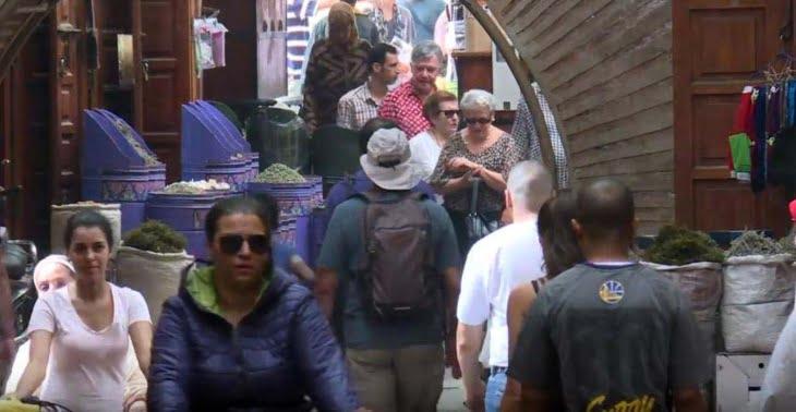 ارتفاع عدد السياح الوافدين على المغرب ومراكش في المقدمة