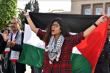 الإئتلاف المغربي للتضامن يدعو إلى وقفة شعبية أمام القنصلية الأمريكية بالبيضاء