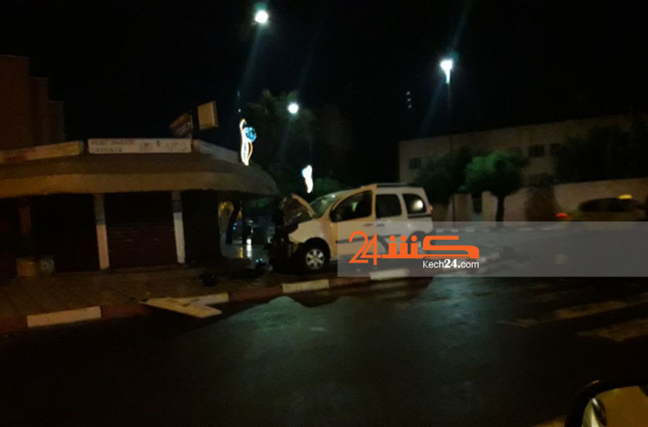 تهوّر سائق يتسبب في حادثة سير بمراكش + صورة