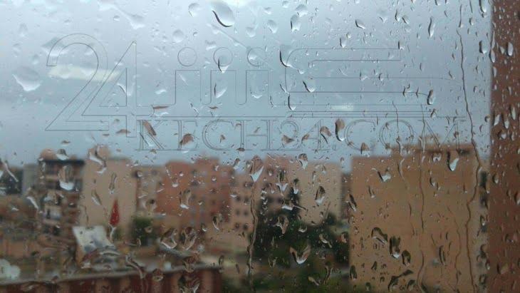هذه مقاييس التساقطات المطرية المسجلة بمراكش وباقي مدن المملكة خلال الـ24 ساعة الماضية