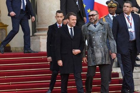 إشادة عالية بمشاركة الملك محمد السادس وولي عهده في قمة المناخ الدولية بباريس + صور