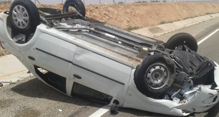إصابة سياح أجانب في حادثة سير على الطريق السيار بين مراكش وأكادير