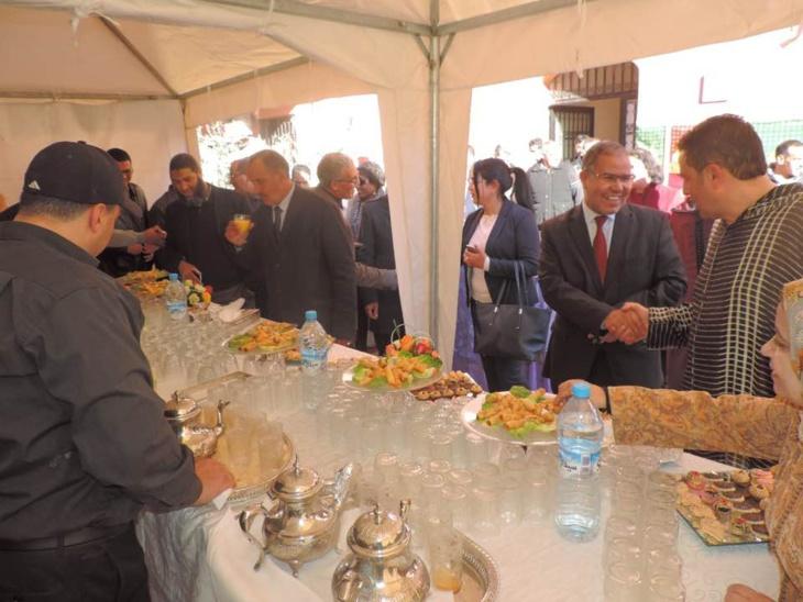إفتتاح مقر جديد للملحقة الادارية رياض السلام بمراكش