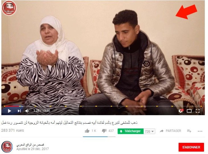 حشومة.. قناة على اليوتوب تستغل صورة شاب مراكشي ووالدته لترويج معطيات خطيرة ومغلوطة